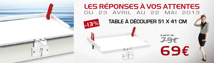 MAGMA Table a decouper
