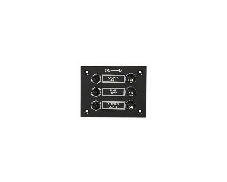 tableau lectrique tanche 3 interrupteurs tableaux lectriques bigship accastillage. Black Bedroom Furniture Sets. Home Design Ideas