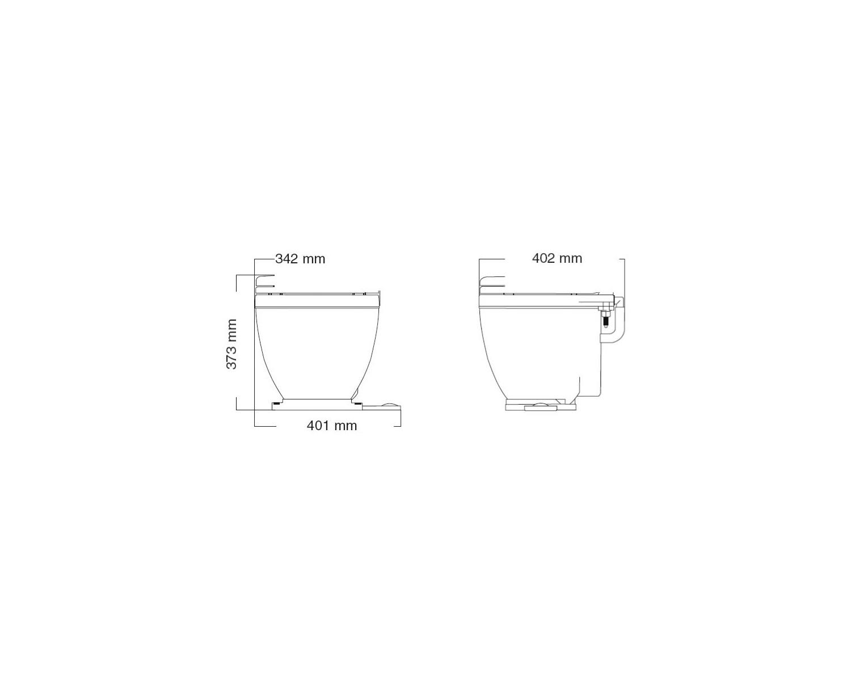 Jabsco Wc Lite Flush 12v Avec Tableau Commande Wc Electriques