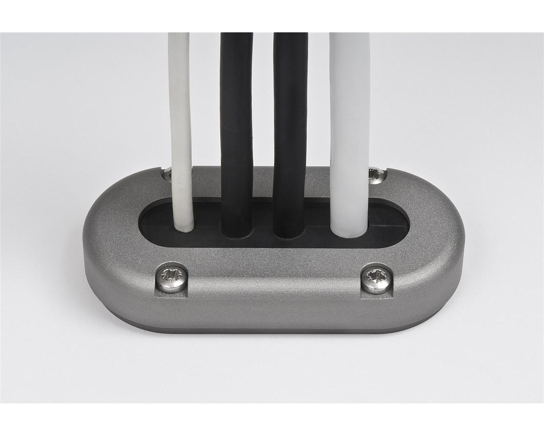 Passage De Cable Dans Cloison scanstrut passe fil anodisé étanche multi Ø15mm