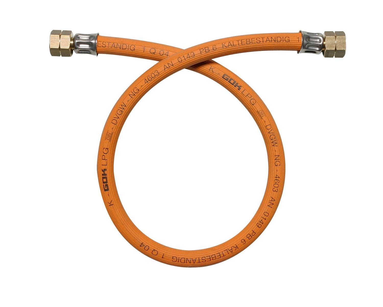 Eno flexible gaz vis vis 60cm accessoires gaz bigship for Flexible gaz a vie