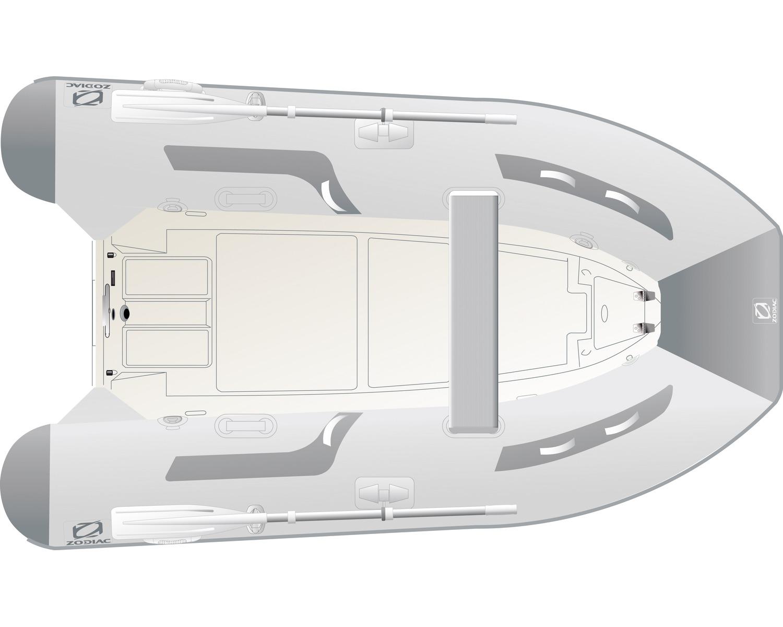 zodiac cadet rib pvc 310 gris semi rigide bigship accastillage accessoires pour bateaux. Black Bedroom Furniture Sets. Home Design Ideas