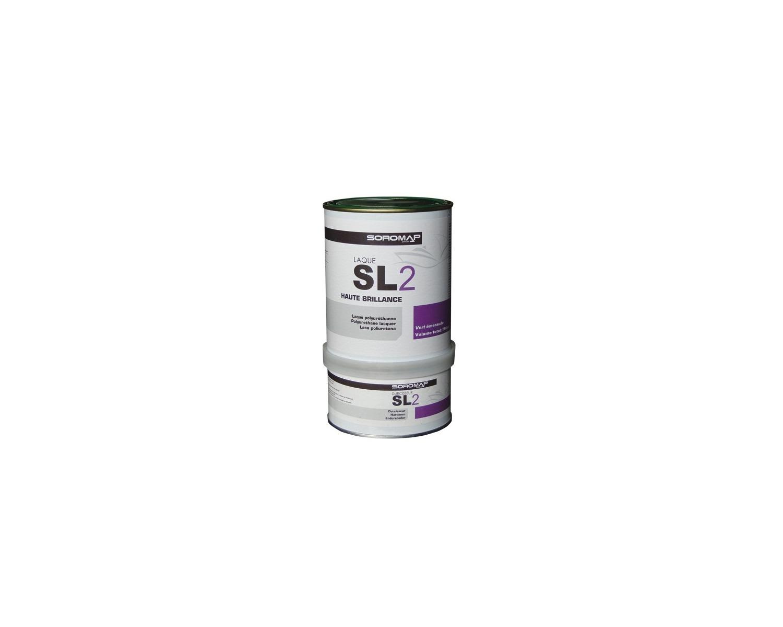 Soromap Laque Bi Composante Sl2 075l Jaune Topaze Laque Et