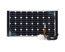 Kit solaire Black Cristal 100W back contact