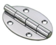 BIGSHIP Charnière inox ovale 56x78mm