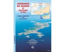 SHOM Courant de marée 564 - Dunkerque à Brest