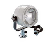 Projecteur 12V 100W support plat-pont