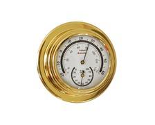 BIGSHIP Thermomètre hygromètre laiton 70mm