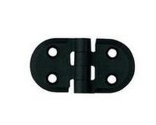 BIGSHIP Charnière polyamide ronde 70x40 mm
