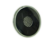 TREM Plafonnier rond à leds 12V inox Ø50mm