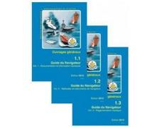 SHOM Guide du Navigateur, vol. 1, 2, 3 (avec ouvrages 1 D et