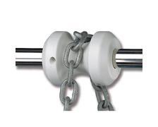 TREM Guide chaine pour balcon Ø22-25mm