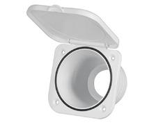 NUOVA RADE Boîte blanche et carrée pour robinet - mitigeur