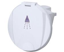 NUOVA RADE Boîte blanche et ronde pour douche