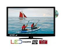 STANLINE Téléviseur 19 HD LED dalle inversé + lecteur DVD