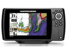 HUMMINBIRD Combiné GPS Helix 7 G3 CHIRP sonde TA + Carte Fr