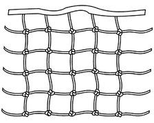 Filets de filière renforcés 30 à 70cm le mètre