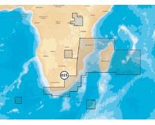 NAVIONICS Platinum+ XL SD Afrique Sud Est et Madagascar 6P03