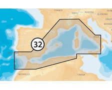 NAVIONICS Platinum+ XL3 SD Méditerranée ouest 32P+