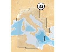 NAVIONICS Platinum+ XL3 CF Méditerranée centre 33P+