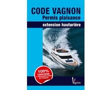 VAGNON Code Permis Plaisance, extension hauturière