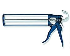Pistolet squelette cartouche mastic