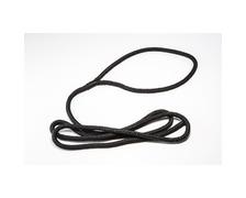 Tresse polyester noire pour pare-battage Ø8mm - 1,5m