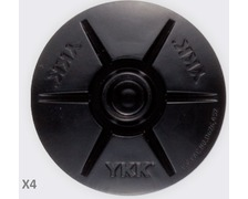 YKK SNAD dôme mâle noir Ø40 les 4