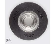 YKK SNAD flexible mâle noir Ø25 les 4