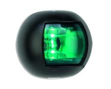 TREM Orsa LED feu de tribord vert noir (112,5°)