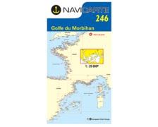 NAVICARTE Carte n°246 Golfe du Morbihan