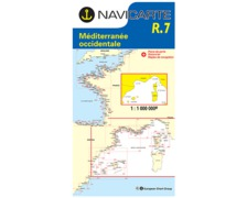 NAVICARTE Carte n° R.7 Méditerranée occidentale