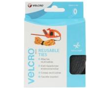 VELCRO Collier serre câbles One Wrap® noir 30mm (5m)