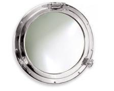 FORESTI Miroir hublot en laiton chromé Ø210mm