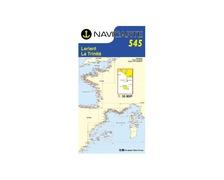 NAVICARTE Carte n°545 Lorient-La Trinité-Belle Ile-Houat