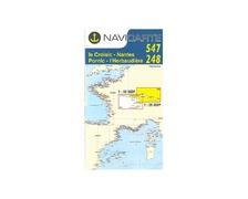 NAVICARTE Carte double n°547 et n° 248 Le Croisic-Nantes-Por