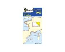 NAVICARTE Carte n°1022 Ile d'Yeu-La Rochelle