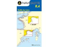 NAVICARTE Carte n°R.4 Golfe du Lion - Marseille - Barcelone