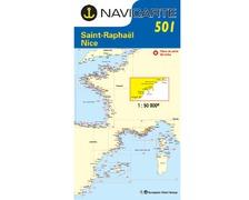 NAVICARTE Carte n°501 Saint Raphaël - Nice