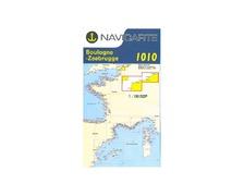 NAVICARTE Carte n°1010 Ostende-Boulognev