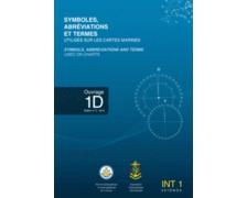 SHOM Symboles et abréviations figurant sur les cartes marine