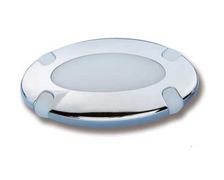 TREM Spot halogène 12V 10W Ø88mm blanc