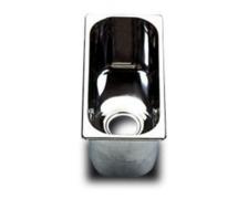 BARKA Evier rectangulaire inox poli miroir 325 x 160 x 150 m