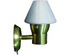 BIGSHIP Applique LED laiton avec interrupteur
