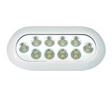 BIGSHIP LED sous-marine rectangulaire 10-30V