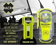 ACR ResQLink float balise PLB + FireFly Pro OFFERT