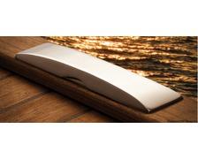 OSCULATI Taquet escamotable en inox 160mm