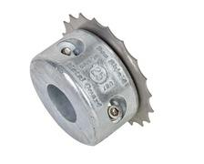 SLC Coupe orin Inox anode collier diamètre arbre 25 mm