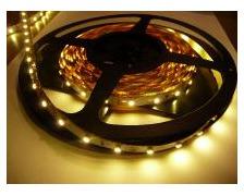 MANTAGUA Ruban à LED blanc chaud 12V 5m