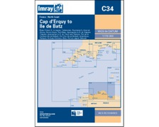 IMRAY Carte C34 Cap d'Erquy  to Ile de Batz